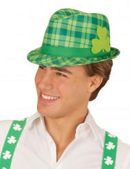 Karierter Saint Patrick's Day Hut für Erwachsene