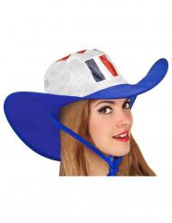 Cowboy-Hut für französischen Fan