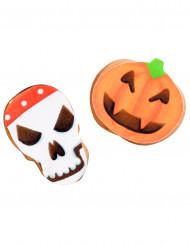 9 kleine Oblaten - Halloween