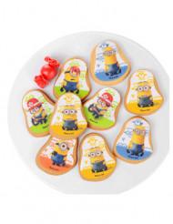 10 Dekorationen aus Zucker Cookies der Minion ™