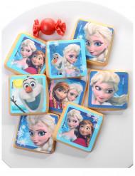 12 Kekse Dekorationen aus Zucker - Die Eiskönigin™