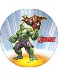 Hulk™ und Iron Man™ Oblate