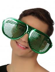 Riesen Brille grün für Erwachsene