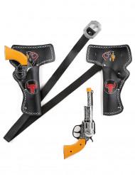 2 Pistolen + Pistolentaschen