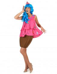 Cupcake Kostüm für Damen - rosa
