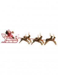 Weihnachtsmann Dekoration für Kuchen