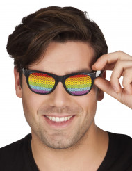 Regenbogen-Brille für Erwachsene