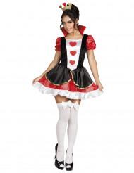 Herzkönigin Kostüm sexy für Damen
