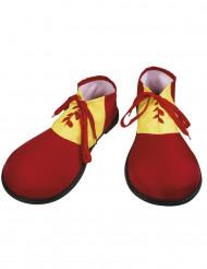 Rote Clown-Schuhe für Erwachsene