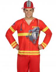 Feuerwehrmann T-Shirt für Herren