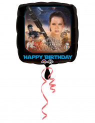 Alu-Luftballon Star Wars VII™ - Happy Birthday