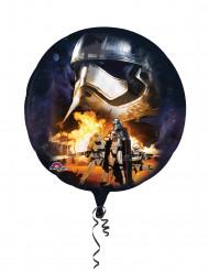 Alu-Luftballon Star Wars VII™ - Dunkle Seite der Macht dunkelblau 81 cm