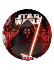 Alu-Luftballon Star Wars VII™ - Dunkle Seite der Macht rot  38x40 cm