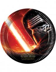 8 Pappteller Star Wars VII™