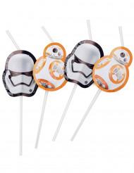 6 Star Wars VII™ Strohhalme