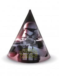 6 Star Wars VII™ Partyhüte