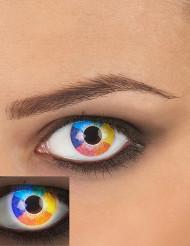 Kontaktlinsen Regenbogen