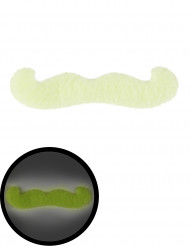 Phosphoreszierender Schnurrbart