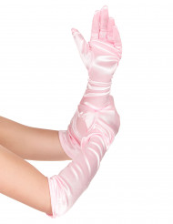 Rosa Prinzessin-Handschuhe für Mädchen