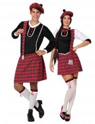 Schotten Paarkostüm für Erwachsene