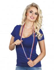 Frankreich Fan Perlenkette