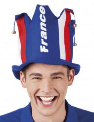 Schellenhut für französischen Fan