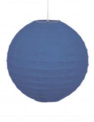 Blauer Lampenschirm