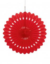 Roter Lampion zum Aufhängen