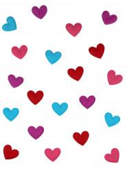 20 Herz-Konfetti - Valentinstag