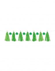Grüne Girlande St. Patrick