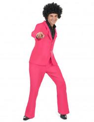 Rosa Disco Kostüm
