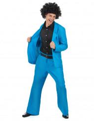 Blaues Disco Kostüm