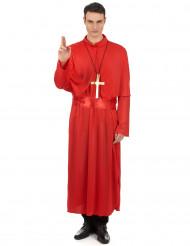 Kardinal Kostüm für Erwachsene - rot