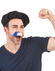 Schnurrbart Frankreich-Fans