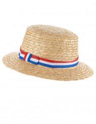 Frankreich Fan Strohhut