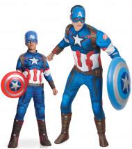 Captain America™ Kostüm-Set für Vater und Sohn