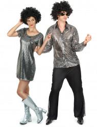 Disco Kostüm Set für Paare