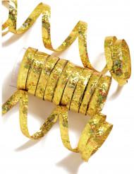 Luftschlange gold