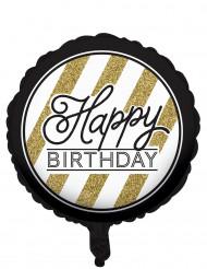 Happy Birthday Aluminium Ballon 46cm