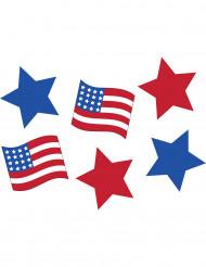 6 USA Dekorationen
