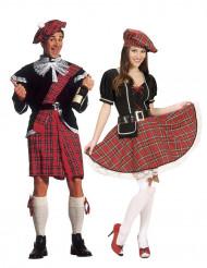 Schottenkostüm-Set für Männer und Frauen