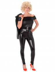 Sexy 50er Jahre Kostüm für Damen schwarz Filmheldin Tänzerin