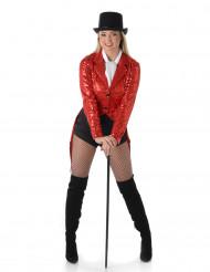 Rotes Charleston Kostüm für Damen