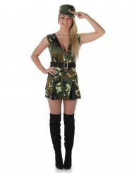 Soldatinnen Kostüm für Damen