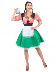 Kostüm Bayerin im Dirndl für Erwachsene