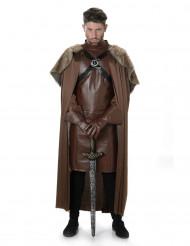 Ritter Winter-Kostüm für Herren braun-schwarz