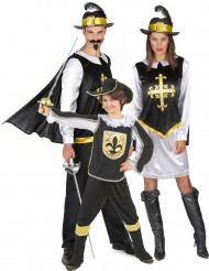 Musketier Familienkostüm Eltern-Kind