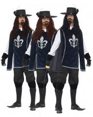 Musketier Gruppenkostüm für Herren