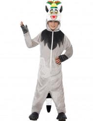 Lemur König Julien Kostüm für Kinder - Madagascar™