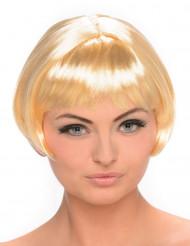 Blonde Kurzhaarperücke für Damen